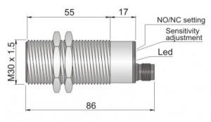 SC30SM-A20 NO/NC H