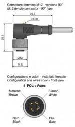MOD.14/4 M12 NPN/LED LC5