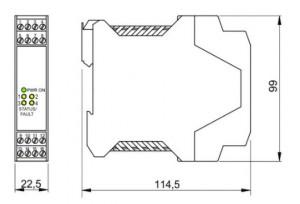 BARRIERA ATEX Mod. D1032D