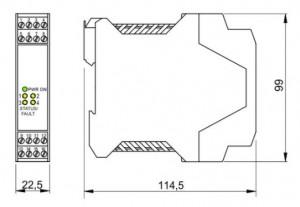 BARRIERA ATEX Mod. D1031Q
