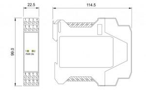 BARRIERA ATEX Mod. D1020D